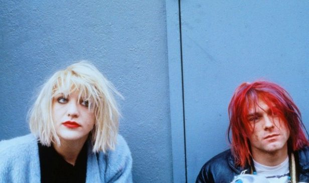 Courtney Love working on Kurt Cobain documentary