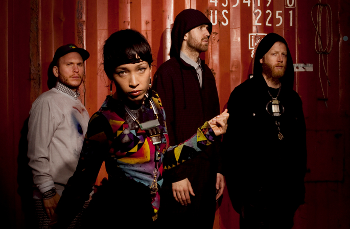 """It all makes sense for that hour you're on stage."" Little Dragon talk intensive touring, vibing with Big Boi"