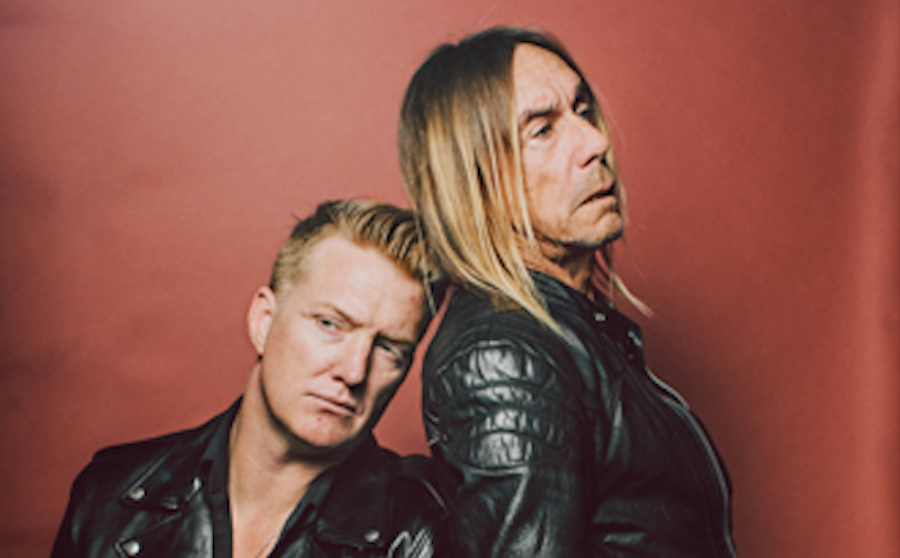 Iggy Pop and Josh Homme have recorded an album together