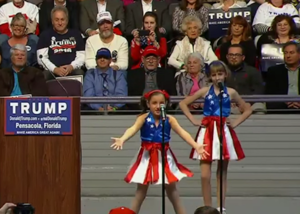Donald Trump Has Made A Patriotic Edm Song With Children