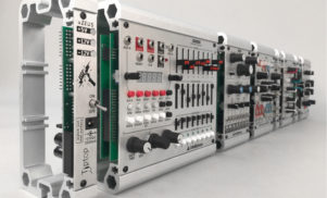 This Lego-style system is a perfect case for modular synth newbies