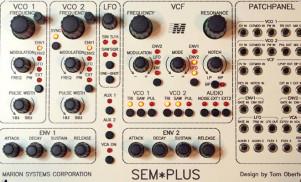 Tom Oberheim previews Eurorack SEM Plus and sequencer modules