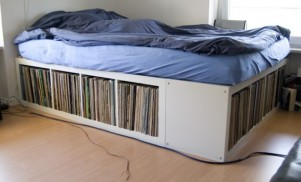 7 cunning IKEA hacks for storing vinyl