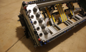 Behold, a modular synth case built from LEGO
