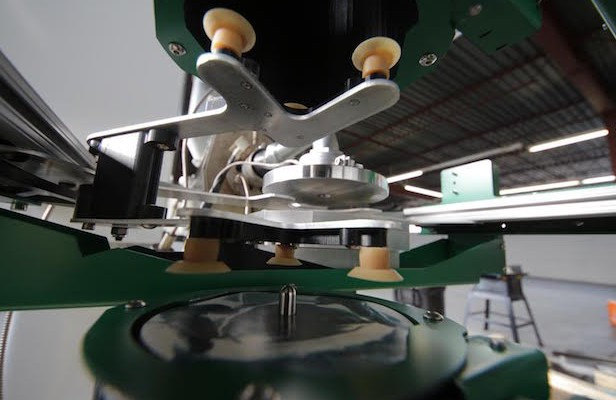 Automated pressing plants designed to speed up vinyl manufacturing