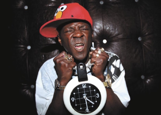 Flavor flav archives the source.