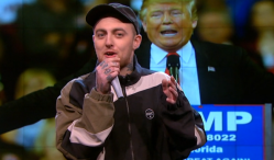 "Mac Miller to Donald Trump: ""You racist son of a bitch"""