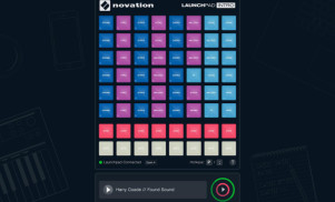 Novation releases virtual Launchpad controller for browser-based remixing
