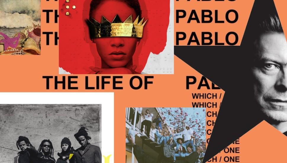 Best Albums of 2016 so far