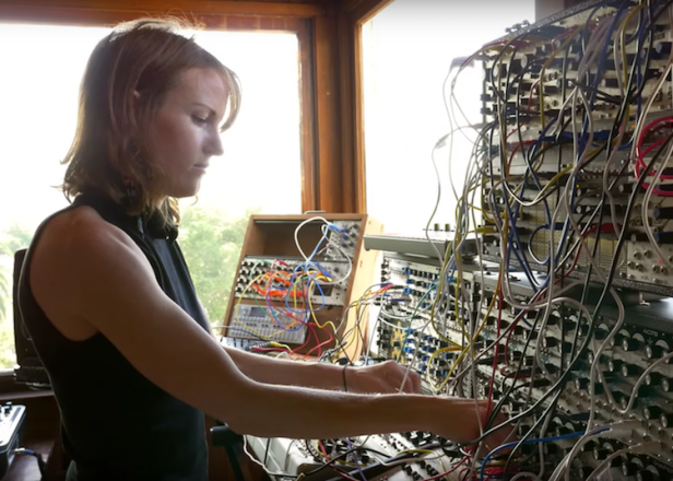 Modular synthesists collide on Kaitlyn Aurelia Smith's remix of The Field's 'Reflecting Lights'