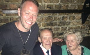 A couple in their 70s danced at Fabric last night