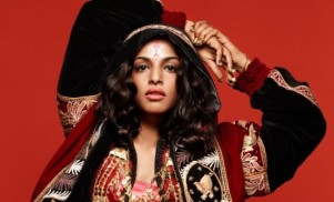 """M.I.A. says her """"last album"""" is finished, but she can't tour the US"""