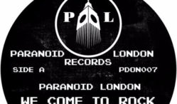 Acid duo Paranoid London cover electro classic 'We Come To Rock' on next 12″