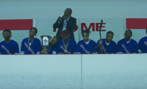 Lil Yachty rides a zamboni in his hockey-themed video for 'Minnesota'