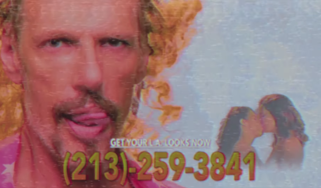 HEALTH soundtrack dystopian party hotlines in 'L.A. Looks' video
