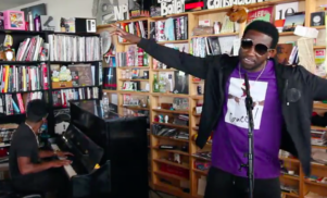 Watch Gucci Mane perform for NPR's Tiny Desk Concert series