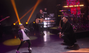 Watch Anderson .Paak perform with his 6-year-old son