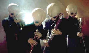 Australia's most popular sex jam is the Star Wars Cantina Band song