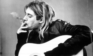 One of Kurt Cobain's guitars is up for auction on eBay