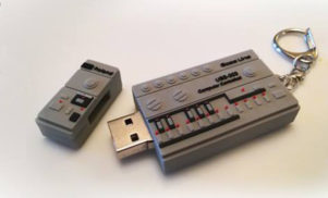 I Love Acid's 10th anniversary compilation comes on a 303-shaped USB stick