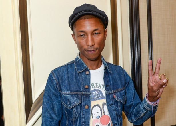 Pharrell to produce musical film inspired by his life