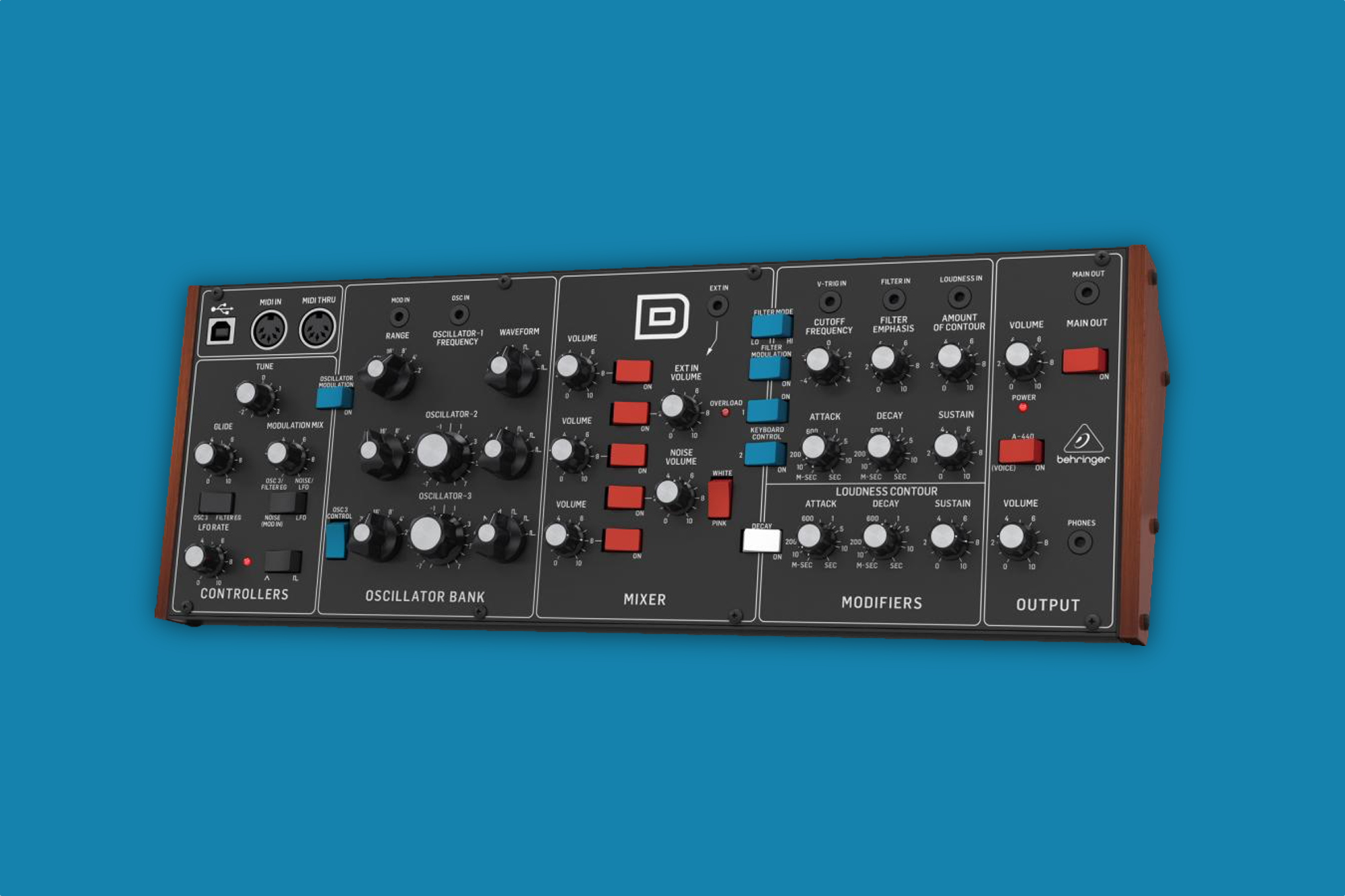 Behringer shows off its $400 Minimoog clone for Eurorack