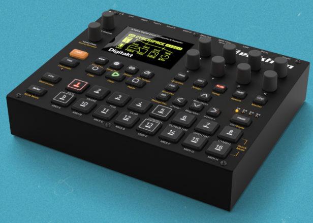 Elektron's Digitakt drum machine available for pre-order