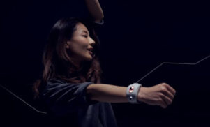 Sony's new wristband prototype turns your dance moves into music