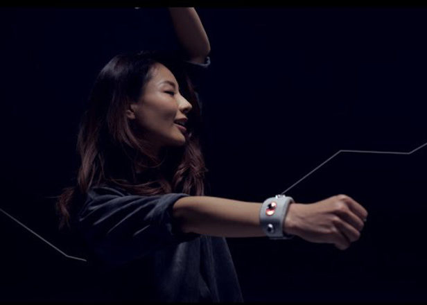 Sony has created a wristband that turns your dance moves into music