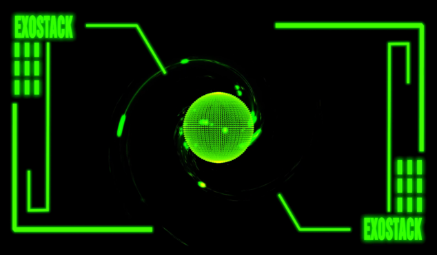 Watch Space Dimension Controller's neon-soaked 'EXOSTACK' video