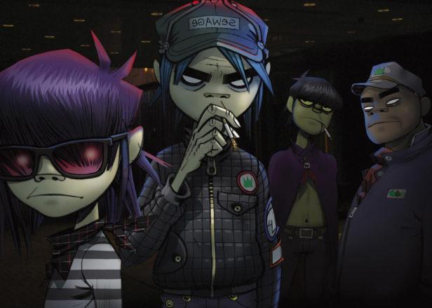 Gorillaz launch listening party for new album Humanz