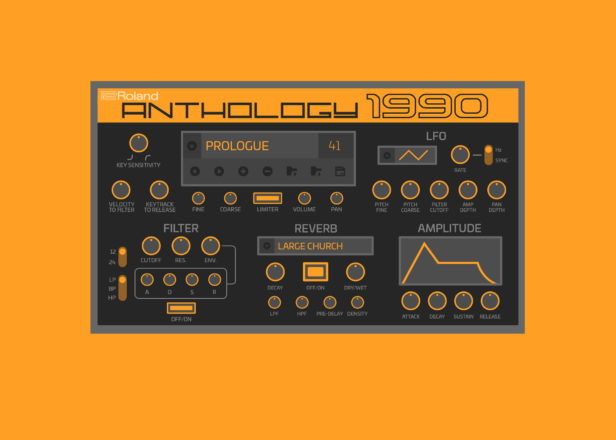 Roland releases Anthology 1990 soft synth based on classic D-70 instrument