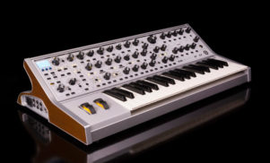 Moog's new synth includes presets made by S U R V I V E and 808 State