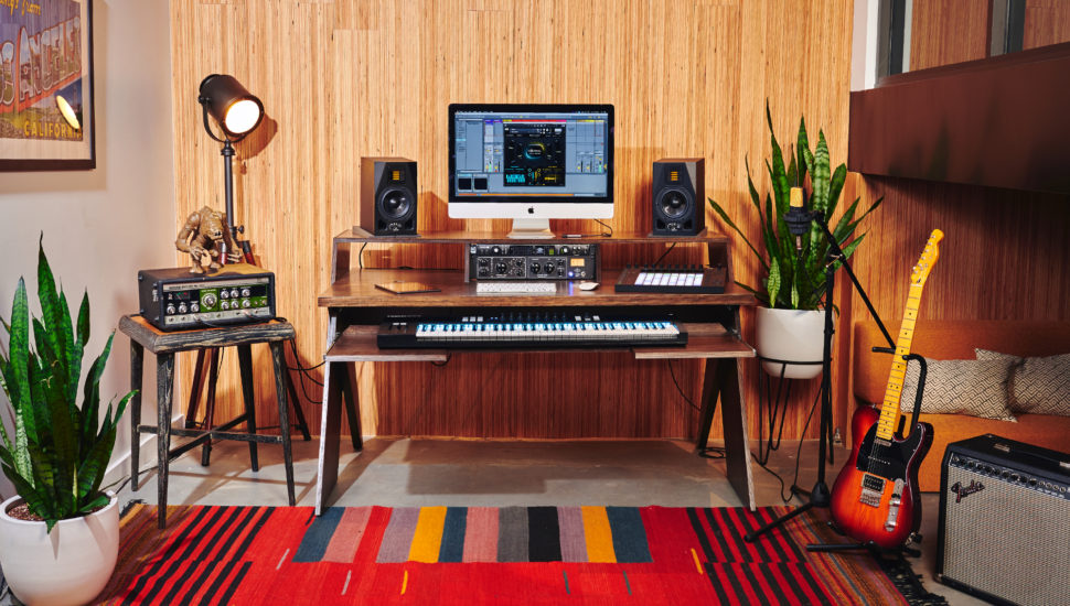home studio desk design. Output s Platform could be the home studio desk musicians have been looking  for want