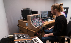 Drum 'n' bass heavyweight Sub Focus shows us his immaculate London studio