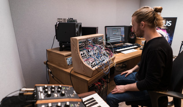 Drum 'n' bass heavyweight Sub Focus shows us his immaculate London studio