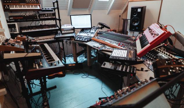 Step inside Sebastian Mullaert's picturesque woodland studio