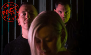 The Holy Circle are the Baltimore synth-pop trio with experimental metal in their DNA