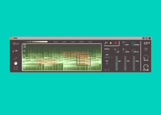 Iota lets you create lots of a collage of micro-loops from one sample in Ableton Live