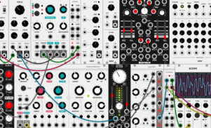 VCV Rack is an open-source virtual modular synth you can download for free