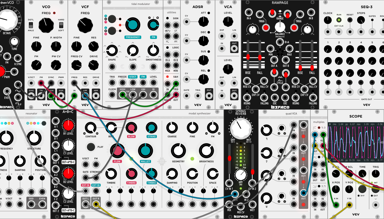VCV Rack is a free, open-source virtual Eurorack modular synth