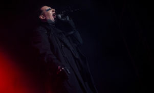 Marilyn Manson cancels tour dates following onstage injury in New York