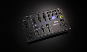 Korg has made a tiny mixer for its Volca gear