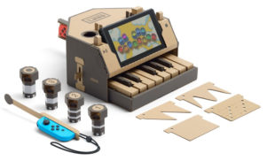 Nintendo's cardboard piano for Switch is the most exciting gear announcement of 2018