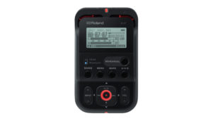 Roland's R-07 is a handheld audio recorder you can control with your phone