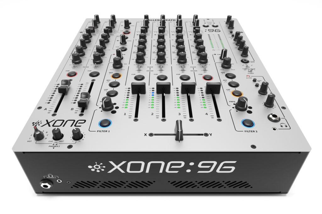 allen heath announces new flagship dj mixer xone 96. Black Bedroom Furniture Sets. Home Design Ideas
