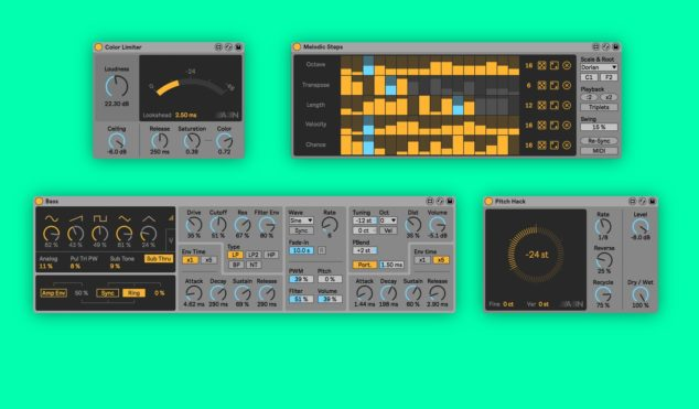Ableton releases eight free creative tools for Live 10 Suite owners