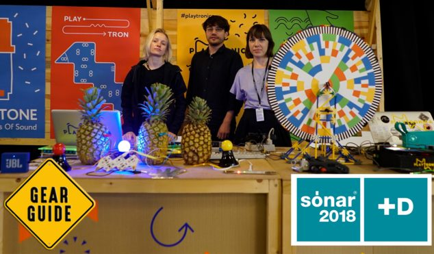 Sónar+D 2018: Playtronica shows us its quirky MIDI controllers