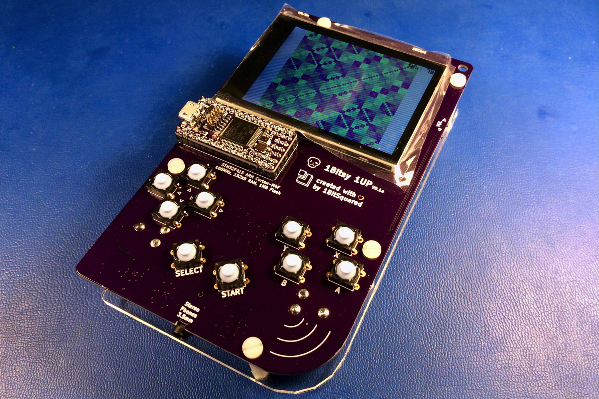 Deep Synth is a handheld instrument that plays the THX sound