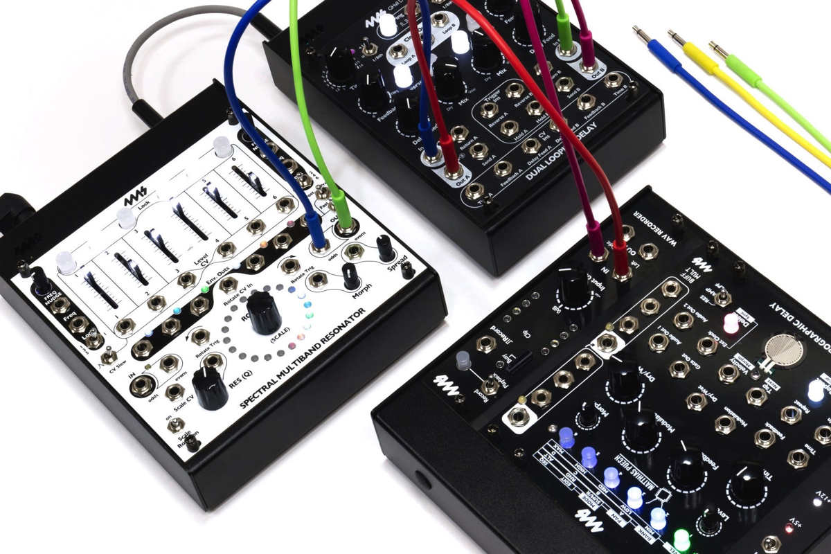 4ms introduces Pods, tiny cases for individual Eurorack modules